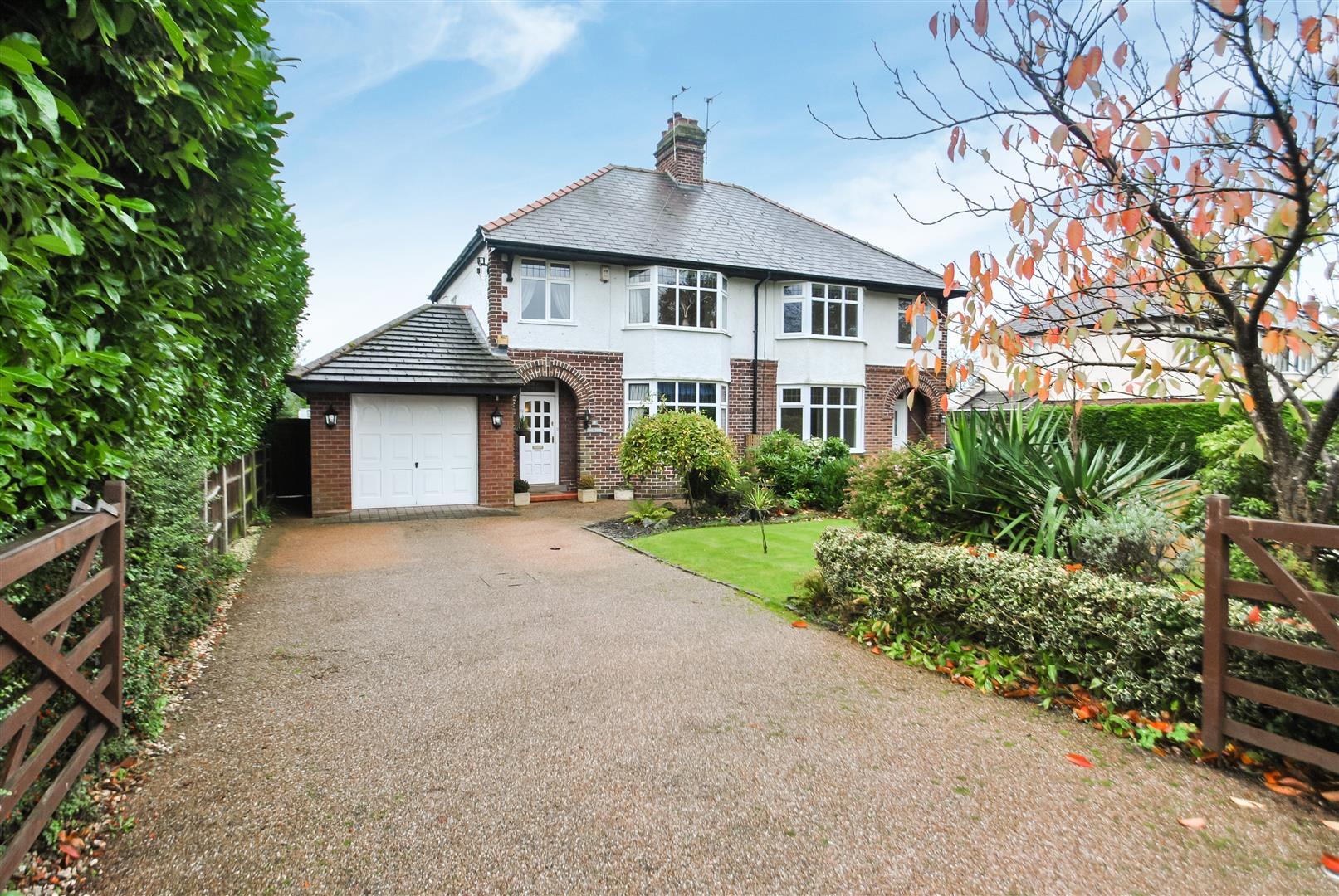 3 Bedrooms Semi Detached House for sale in Hillside Road, APPLETON, Warrington, WA4
